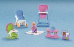 Amazon.com: Fisher-Price Loving Family Everything for Baby: Toys & Games  23.00 free ship