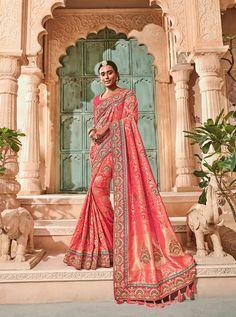 TATHASTU D.NO.-2012 RATE: 4200 - TATHASTU 2001 TO 2015 SERIES  BANARASI SILK JEQUARD TRADITIONAL FANCY SAREE COLLECTION AT WHOLESALE PRICE AT DSTYLE ICON FASHION CONTACT: +917698955723 - DStyle Icon Fashion