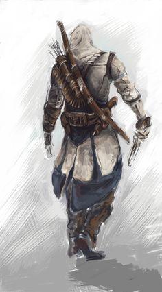 Connor's gait by WaleVale.deviantart.com on @deviantART