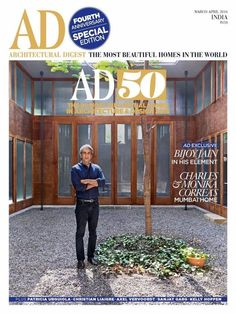 Get your digital copy of AD Architectural Digest India Magazine - March - April 2016 issue on Magzter and enjoy reading it on iPad, iPhone, Android devices and the web. Indian Architecture, Architecture Design, Innovative Websites, Ad Architectural Digest, Beautiful Homes, Most Beautiful, Christian Liaigre, India Design, Small Space Living