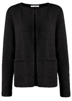 Sibin Linnebjerg Cardigan sort SL1017 Lulu Cardigan 1999 black – Acorns
