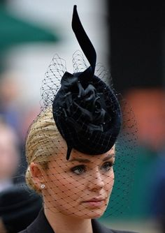 Philip Tracey Hat worn by Katherine Jenkins