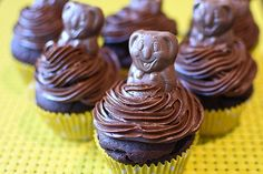 Easy Caramello Koala Cupcakes