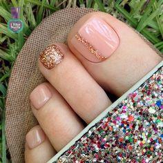 Gel Toe Nails, Acrylic Toe Nails, Feet Nails, Pedicure Nails, Gel Toes, Pretty Toe Nails, Cute Toe Nails, Fancy Nails, Love Nails