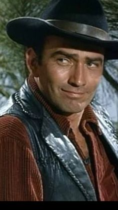 James Drury The Virginian in Felicity's Spring Clint Walker, James Drury, Robert Fuller, Hot Cowboys, The Virginian, Having A Crush, Old West, Movie Stars, Movie Tv
