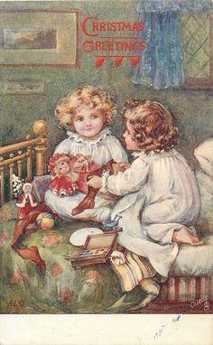 Ada Leonora Bowley (1866-1943) — Christmas Postcard (555x900)