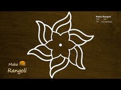 Colorful Flower Kolam with dots Simple Rangoli Kolam, Simple Rangoli Border Designs, Indian Rangoli Designs, Rangoli Designs Latest, Rangoli Designs Flower, Free Hand Rangoli Design, Small Rangoli Design, Rangoli Patterns, Rangoli Ideas