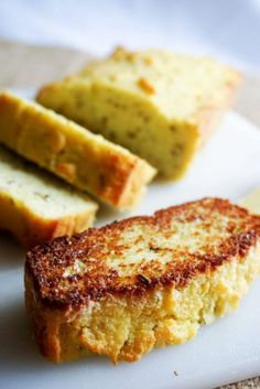 This bread recipe is my personal favorite. Not only is a great alternative for people with nut allergies, but it's is rich with rosemary and garlic and toasts up perfectly. The best way to eat any bread, in my opinion is as toast, and this recipe is no exception. Toast it up on the stove …