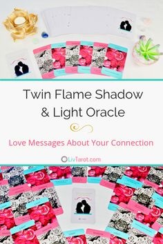 This 65 card deck gives you loving messages from your twin flame and reveals the feelings they struggle with in their connection with you. Twin Flame Love, Twin Flames, Mini Reading, Tarot Card Spreads, Online Tarot, Love Tarot, Tarot Major Arcana, Tarot Learning, Tarot Card Meanings