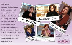 breakfast club quotes with pictures | deviantART: More Like breakfast club quotes by ~wolfdog127
