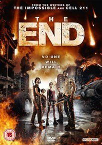 FIN/THE END (15) 2012 SPAIN  TORREGROSSA, JORGE    £15.99 A planned reunion for a group of old friends is turned on its head in this apocalyptic Spanish thriller directed by Jorge Torregrossa.  In Spanish with English subtitles  DVD available at – https://sites.google.com/site/worldonlinecinema/Home/spanish-latin-american-films-on-dvd