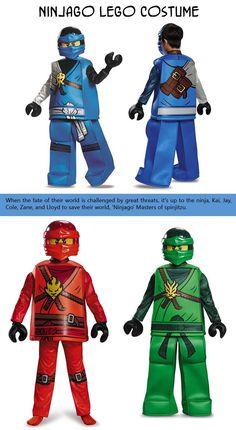 Lego Halloween costumes.