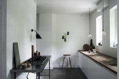 Monochrome Home Hilary Robertson Norm Kitchen | Remodelista