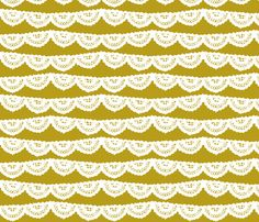 Chartreuse Lace fabric by mrshervi on Spoonflower - custom fabric