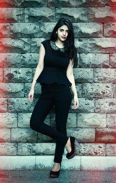 LiKe a VaMpiRe . . . (by Madonna Harutyunyan) http://lookbook.nu/look/4699213-LiKe-a-VaMpiRe