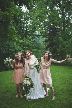 Pin for Later: 40+ Adorable Photos You Need to Take With Your Bridesmaids The Goofy Shot See the full wedding here. Photo by Regina Richards Photography