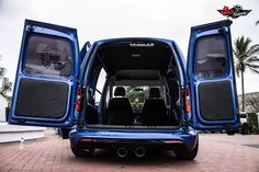 Pics and Words by Javon Francis Not your Average Volkswagen Caddy. The VW caddy started out in the early as a commercial vehicle it slowly grew from the rabbit shape caddy to the sh… Volkswagen Caddy, Vw T5, Vw Caddy Tuning, Caddy Van, Vw Caddy Maxi, Van Car, Custom Vans, Commercial Vehicle, Cool Cars