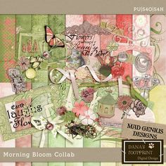 Morning Bloom collab with Mad Genius Designs