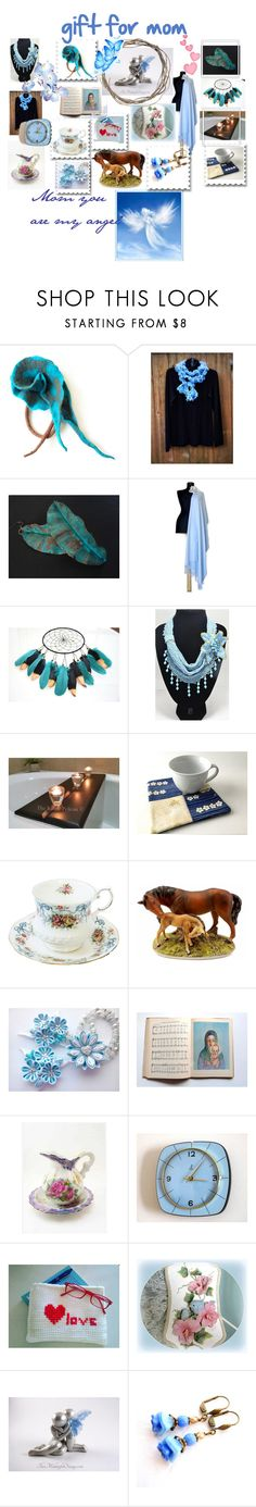 """Mom you are my angel. Mother's day. Gift for mom"" by hobbyshop2015 on Polyvore featuring мода, modern, rustic и vintage"