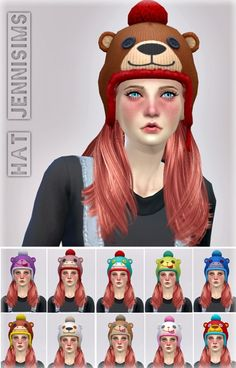 a6317931815 Jenni Sims  Hats Base Game compatible Outdoor Retreat conversion of child • Sims  4 Downloads