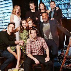 Cast of Batman v Superman: Dawn of Justice #BvS