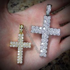 GOLDEN SUN JEWELRY: Prong and bezel set cross. Available in a variety of sizes and in white, yellow, and rose gold. @goldensunjewelry #goldensunjewelry #cross #diamondcross #pendant #diamondpendant #diamonds #diamondpiece #chain #russiancut #gold #religious #jewelry #fashion #fashionista #designer #bling #chunky #nyc #detroit #miami #vegas #flawless #vvs #baller #gia #bespoke #couture #niketalk