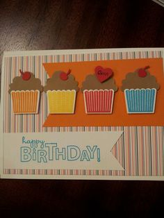 Create a cupcake ... for Grandson's bday