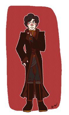 sherlock crossover avatar #firenation freacking cute!