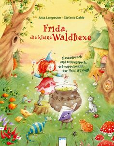 Illustration Enfant Frida, the little forest witch witch spree and bacon, schwuppdiwupp, the envy …