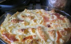 Retete Culinare - Paste cu lapte si branza