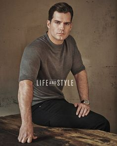 Henry Cavill for Life and Style Superman Cavill, Henry Superman, Henry Cavill Tumblr, Love Henry, Henry Williams, Hollywood Men, Le Male, Man Of Steel, Fine Men