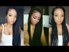 ❤ About My Senegalese Twist - YouTube
