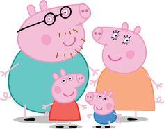 peppa pig personajes - Cerca amb Google