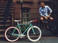 I wanna ride tonight Fixed Bike, Fixed Gear, Bike Style, Mens Fashion, Bike Fashion, Cycling, Couture, Bicycles, Collection