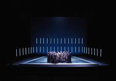 Maria Stuarda  Opéra de Genève  Scénographie Alain Lagarde  Mise en scène Alain Garichot