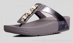 Womens Fitflop Grey Sandals New Style Three Dill
