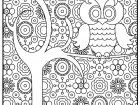 This page has lots and lots of awesome pictures for my grown up coloring club