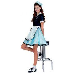 Disfraz camarera años 50. Grease Foto 1