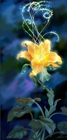 the flower from Tangled