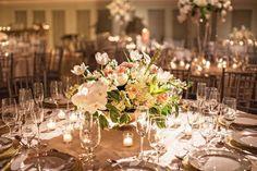 Enchanted Florist | Golden Opulence Indian Affair with Fete Nashville | Real Wedding at Schermerhorn Symphony Center