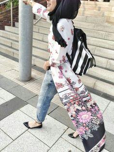 Hijab style: Pinterest @adarkurdish