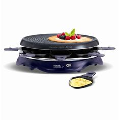 TEFAL RE511412 Appareil à raclette Simply Invents 8 personnes - Violet Service A Raclette, Griddle Pan, Kitchen Appliances, Yummy Food, Nutrition, Healthy Recipes, Violet, Outdoor, Products