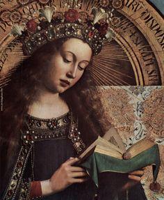 Resultado de imagen para jan van eyck details