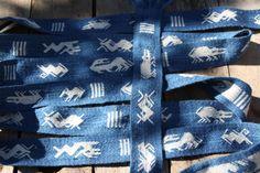 EvebØ Eide; Norwegen 5. Jahrhundert nach Chr. Made of pant-dyd wool  Tablet woven by Sylvia Crumbach