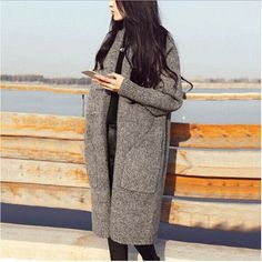 Buy Pecora Cardigan Coat at YesStyle.com! Quality products at remarkable prices. FREE Worldwide Shipping available!