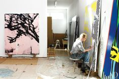 The Bold Work of Charline von Heyl  With her richly dissonant, enigmatic canvases, the artist continually pushes painting in compelling new directions