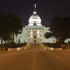 Capitol Building Montgomery, Alabama