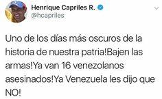 """A las 3pm el reporte de votantes a nivel nacional por el mismo PSUV era de 1millòn 700mil ...a las 6pm extendieron una hora más los centros por la """"excesiva participación del pueblo"""" .. . Seguramente el reporte final será de ocho millones o más """"puro fraude"""" mientrad en todo el pais reina el caos la tristeza y el amedrentamiento... . NO es NO!  #venezuelalibre #sos #noalaconstituyente #fraude #libertad #venezuela"""