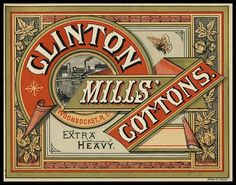 Clinton Mills' Cottons- Woonsocket, R.I.