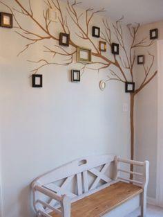 cute family tree idea or just photo collage idea by ana.ventosaalvarez